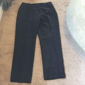 Ann Taylor black petite dress pants
